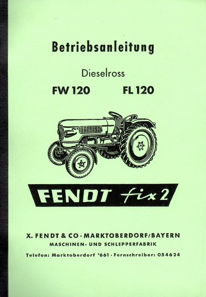 Fendt fix 2 reparaturanleitung