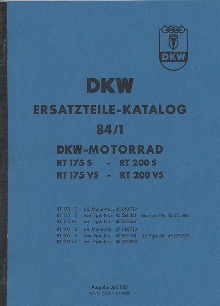 dkw ersatzteile katalog 84 1 oldtimer buchhandel. Black Bedroom Furniture Sets. Home Design Ideas
