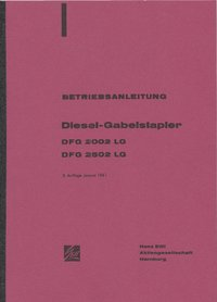 Bedienungsanleitung Still Diesel Gabelstapler - Oldtimer Buchhandel